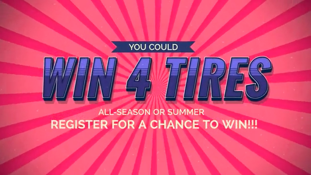 WIN YOUR TIRES