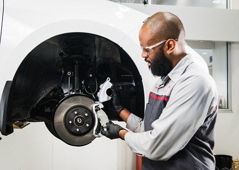 4 Wheel Brake Service