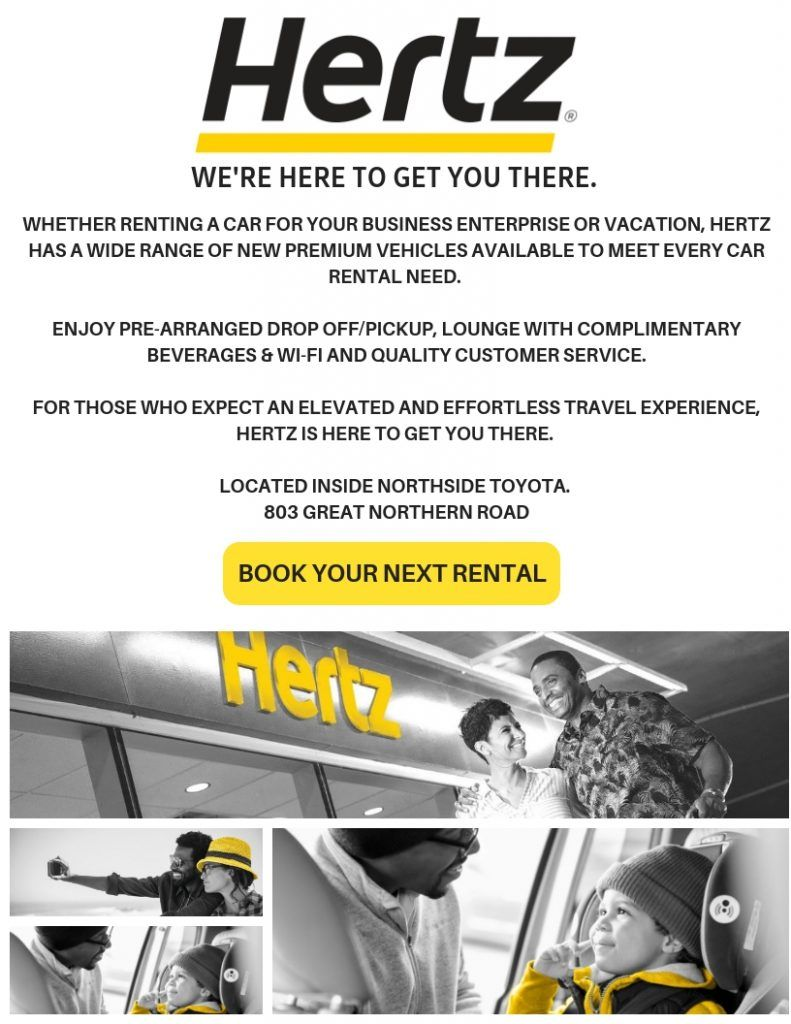 HERTZ CAR RENTAL IS NOW OPEN INSIDE NORTHSIDE TOYOTA MAKING IT EVER EASIER TO BOOK YOUR NEXT