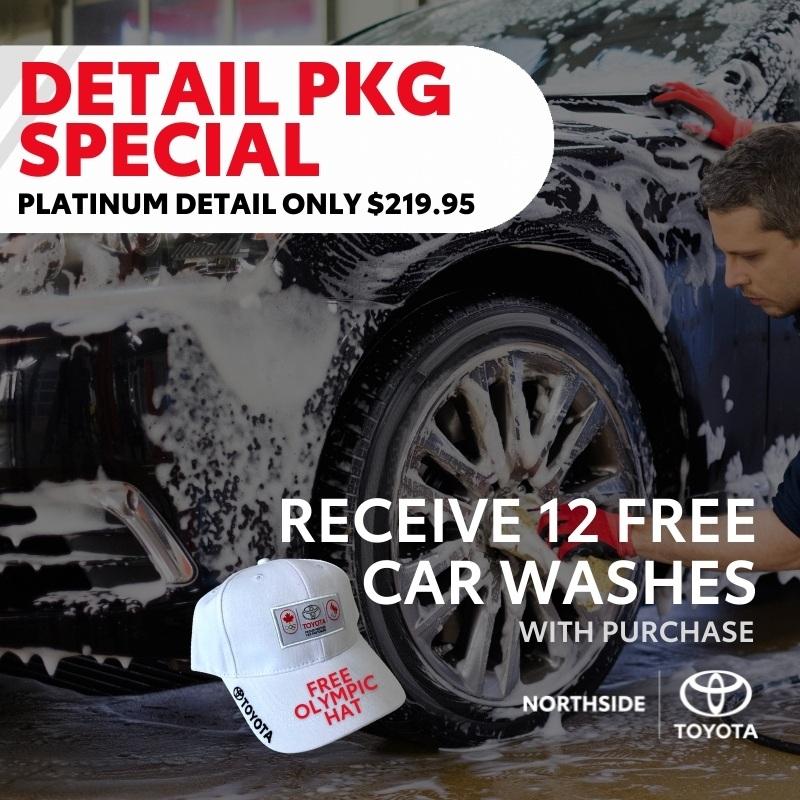 Detail + 12 Free Car Washes